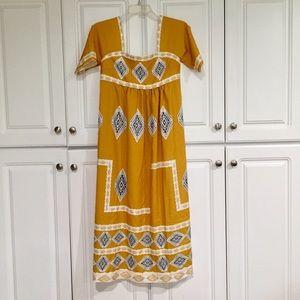 Trendy boho tribal print dress NWOT